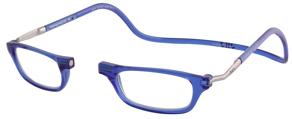 Clic readersXL bright-blue matt