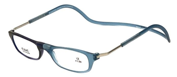 Clic readersXL blue-light blue matt